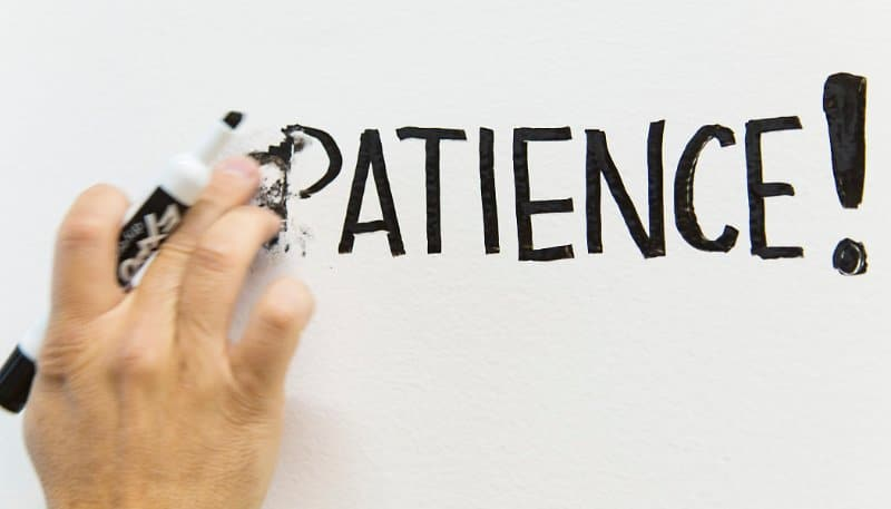 Have patience when writing and erasing on whiteboards