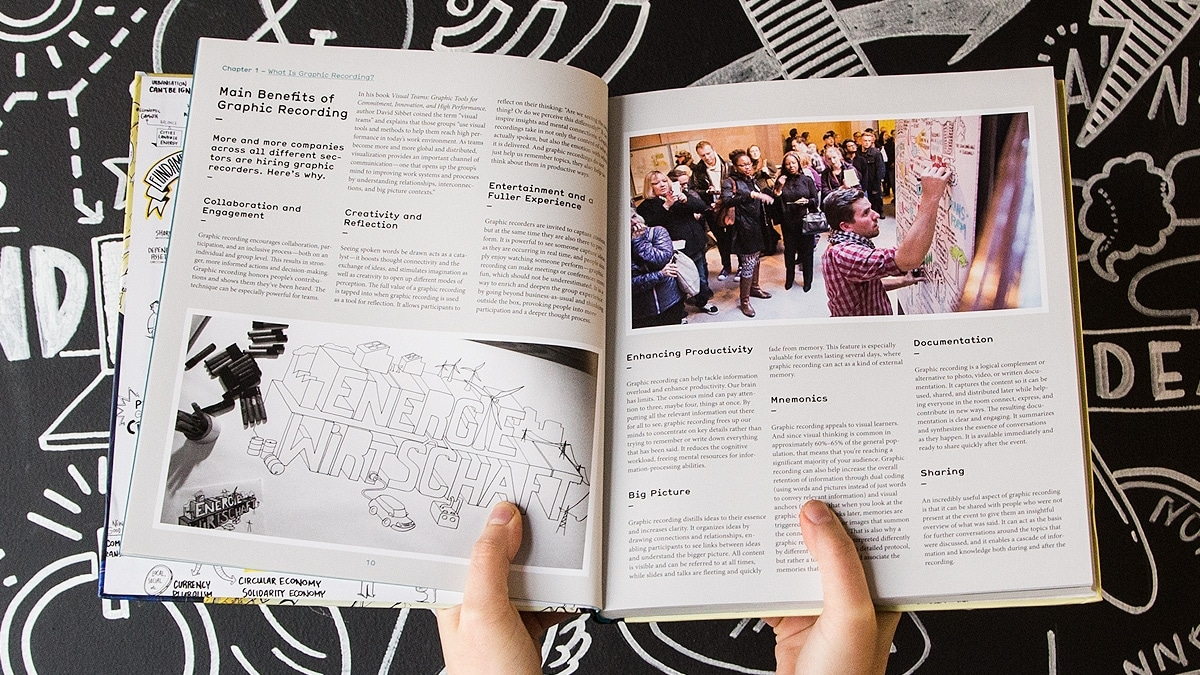 A photo of Ryan Robinson of Ink Factory in the new Gestalten book