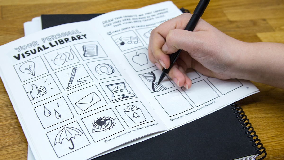Creating your own visual library for visual note-taking