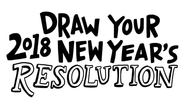Draw Your New Year's Resolution!