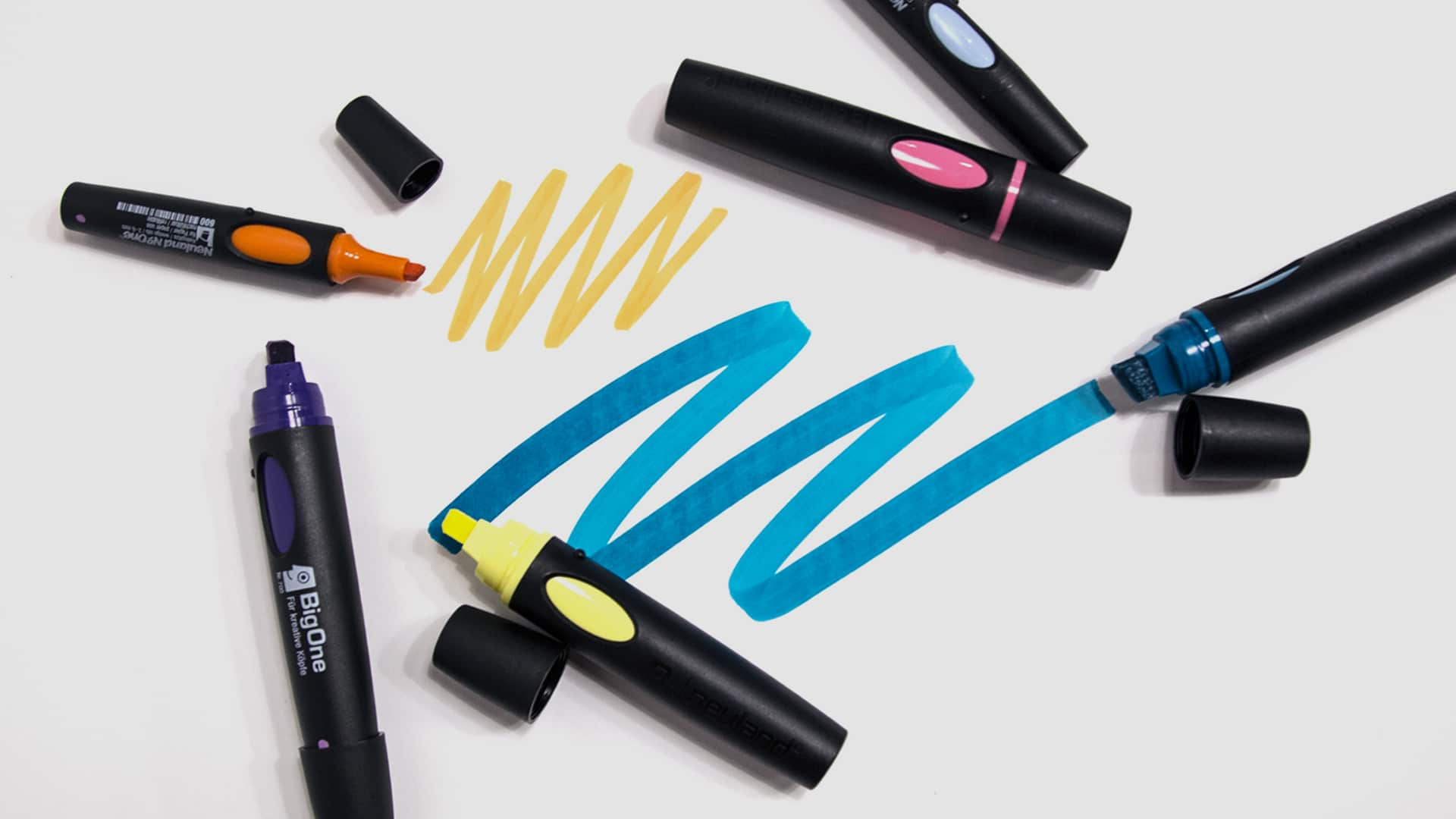 Colored Neuland Markers for Visual Note-Taking
