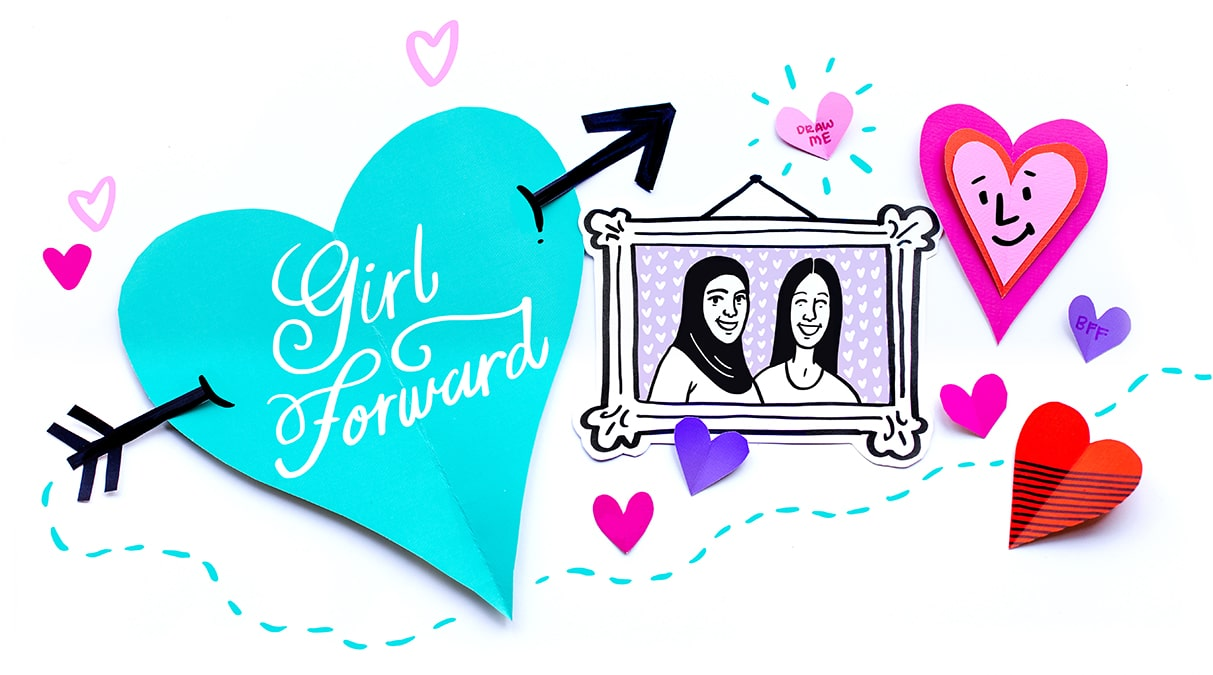 Teresa and Ariana chose to donate to GirlForward