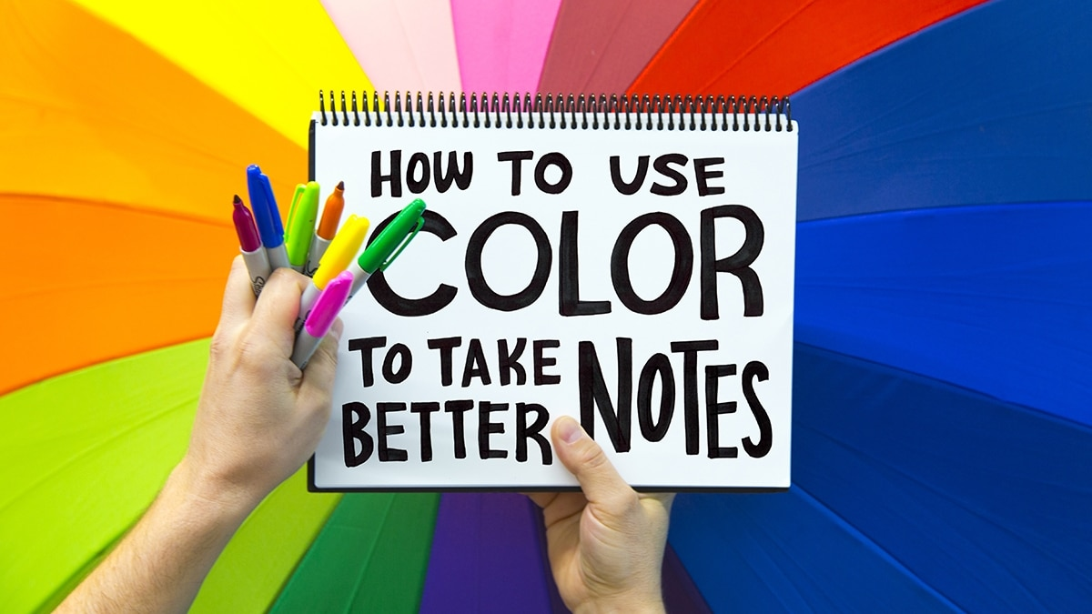How To Use Color To Take Better Notes
